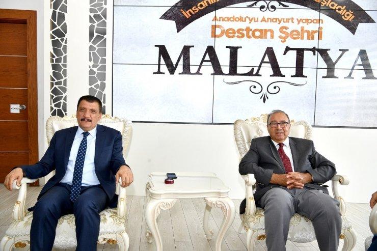 Eski Bakan Metin Emiroğlu'ndan Başkan Gürkan'a ziyaret