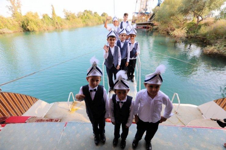 Manavgat Belediyesi'nden 150 çocuğa sünnet organizasyonu
