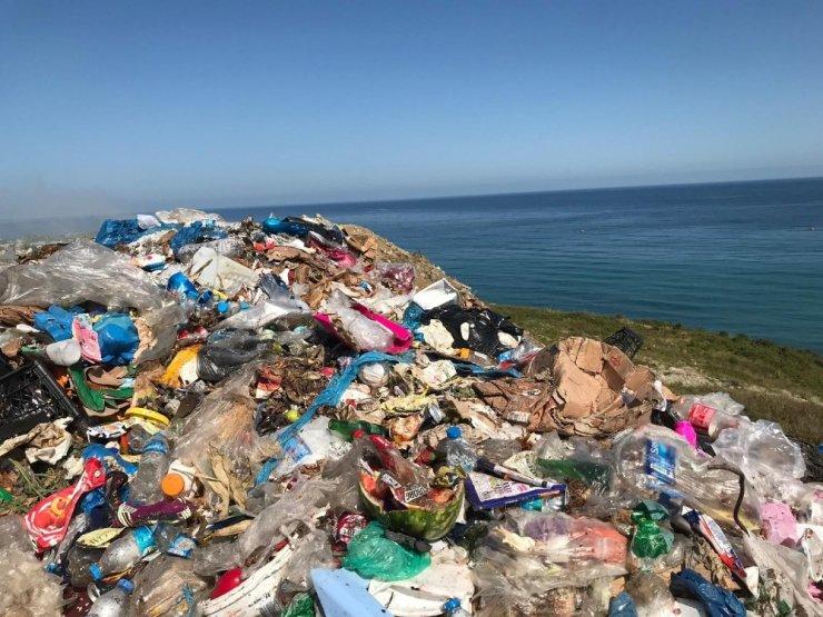 Türkeli'nin Helaldı'sını 'çöp' aldı götürüyor