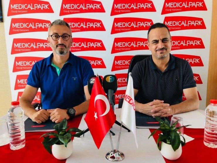 Medical Park, Elazığ Belediyespor'un sağlık sponsoru oldu
