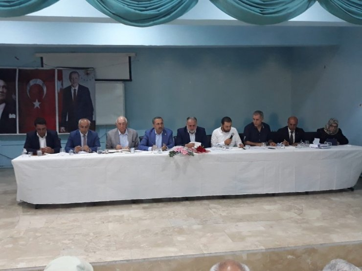 Başkan Ensari, AK Parti Van milletvekilleri ile istişare toplantısı düzenledi