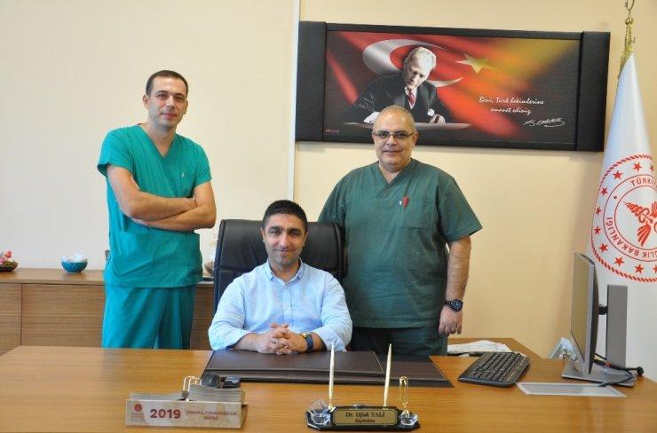 Çanakkale'de ilk kez kapalı cerrahi ile akciğer lobektomi ameliyatı yapıldı