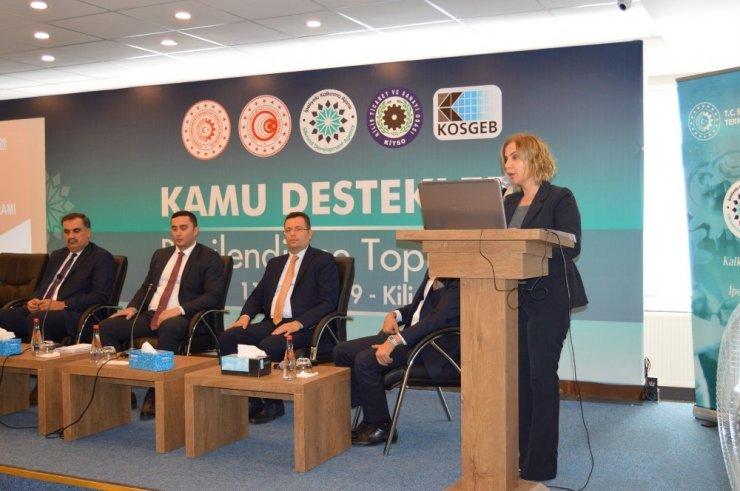 Kamu Destekleri Bilgilendirme toplantısı KİTSO'da yapıldı
