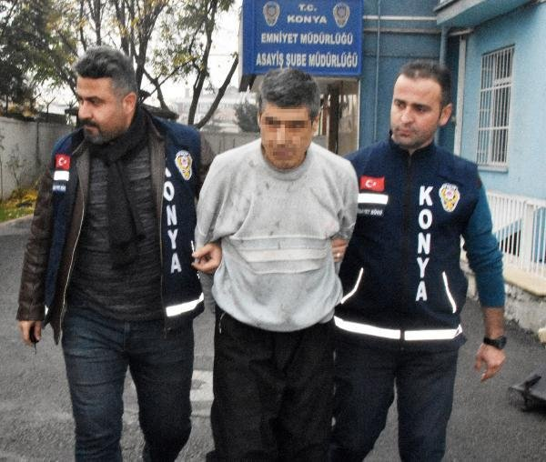 Konya'da annesini 40 yerinden bıçaklayarak öldüren şahıs tahliye edildi