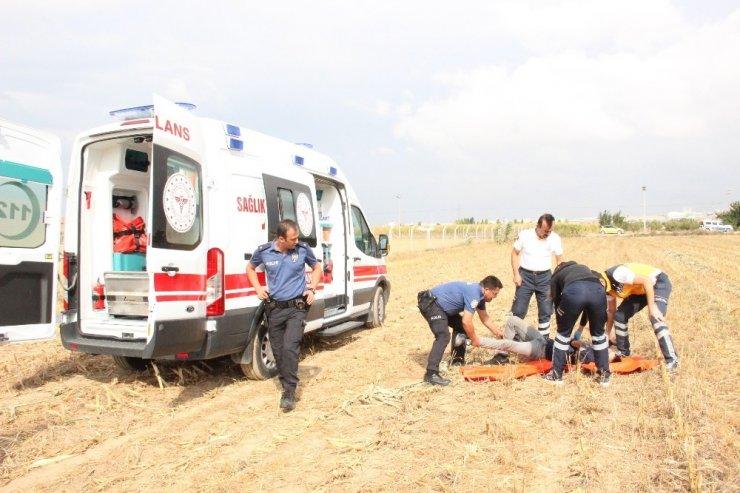 Karaman'da iki genç mısır tarlasında baygın halde bulundu