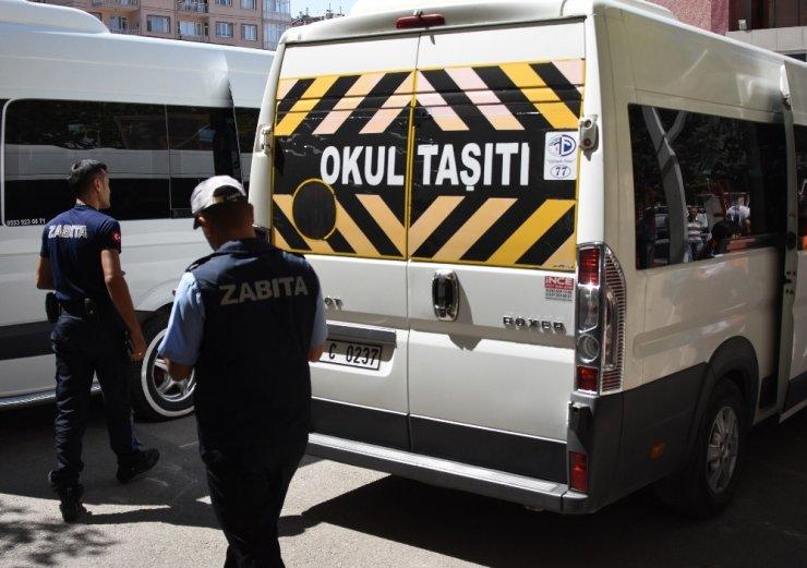 Konya Büyükşehir'den okul servis araçlarına sıkı denetim
