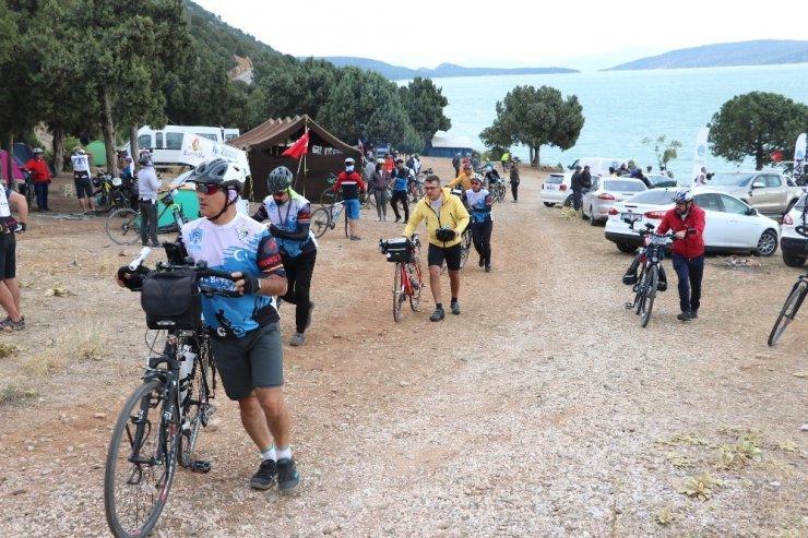 Beyşehir'de Bisiklet Festivali sona erdi