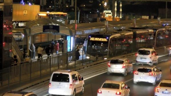Metrobüste yer kapma tartışması kanlı bitti