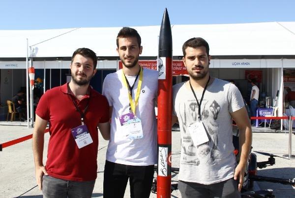 Öğrencilerin yaptığı roket ve SİHA TEKNOFEST'te finalist oldu