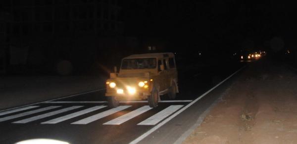 Suriye sınırına zırhlı araç sevkiyatı