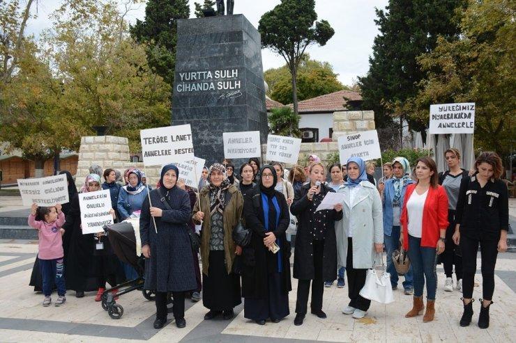 Sinop'tan Diyarbakır'daki annelere destek