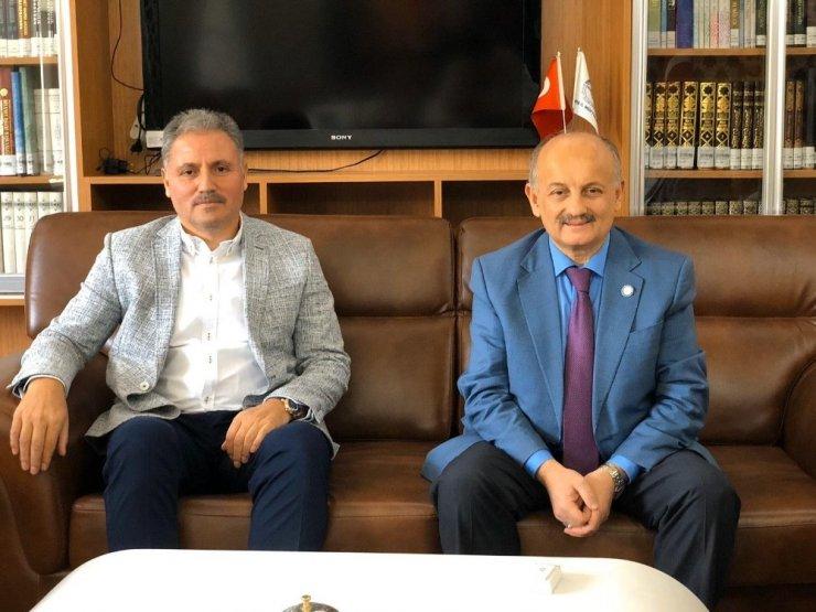 Milletvekili Çakır'dan, Müftü Işıldar'a ziyaret