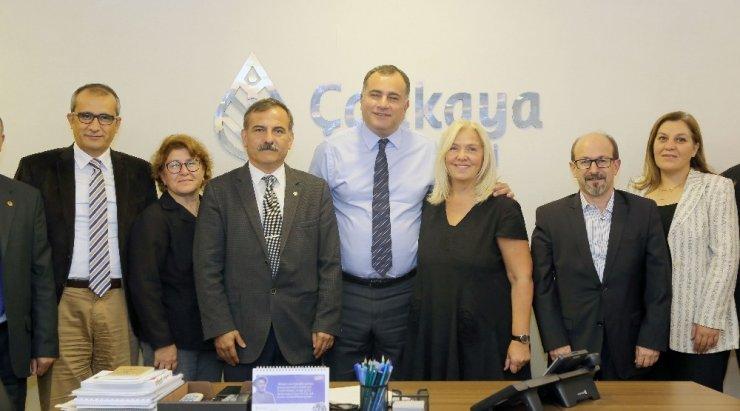 Çankaya Kent Konseyinden Başkan Taşdelen'e ziyaret