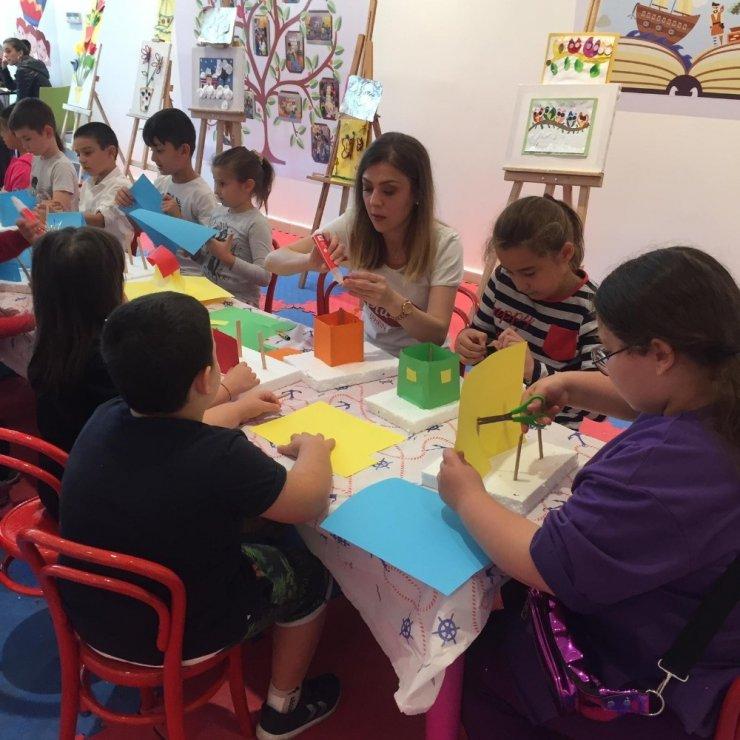 Çocuk Kültür ve Sanat Akademisi devam ediyor