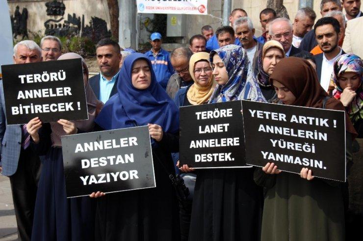 Yozgat'tan Diyarbakır annelerine destek