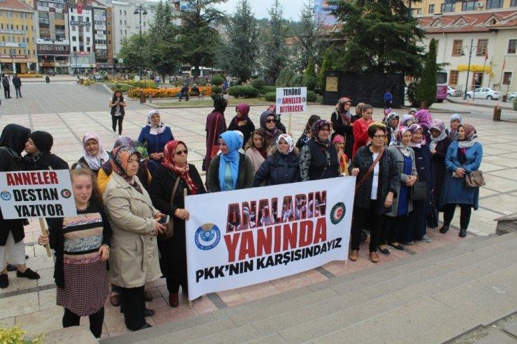 Kastamonulu kadınlardan Diyarbakırlı annelere destek