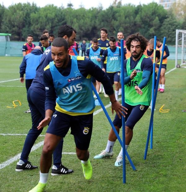 Fenerbahçe, Galatasaray maçı hazırlıklarına devam etti