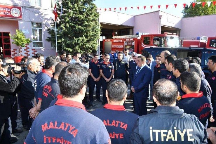 Malatya'da İtfaiye Haftası kutlanıyor