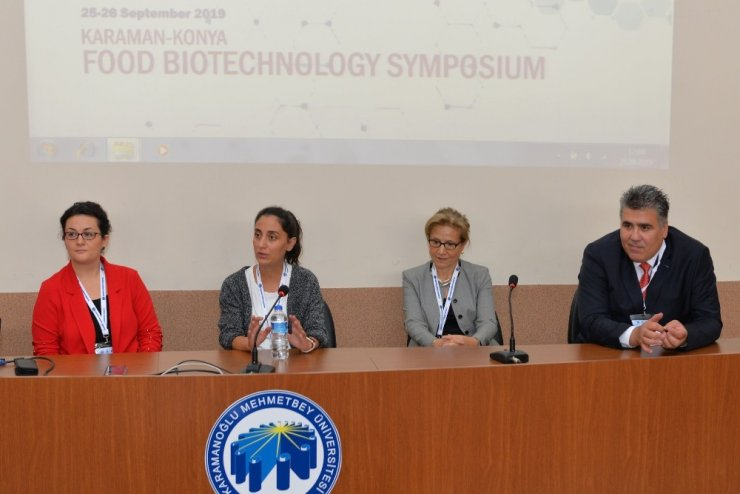 KMÜ'de Gıda Biyoteknolojisi Sempozyumu başladı
