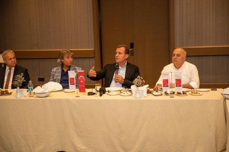 """Seçer: """"Mersin'de turizmin gelişmesi yönünde bütün imkanları seferber"""