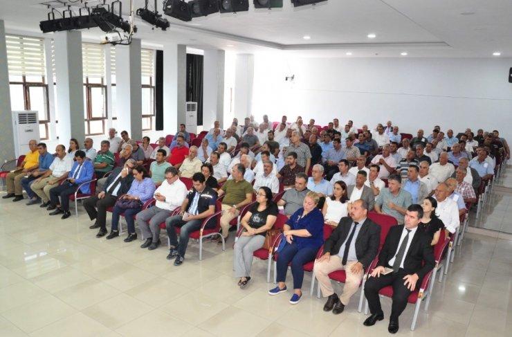 Eylül ayı muhtarlar toplantısı gerçekleştirildi