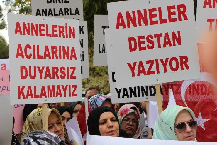 Eskişehir'den Diyarbakır annelerine destek