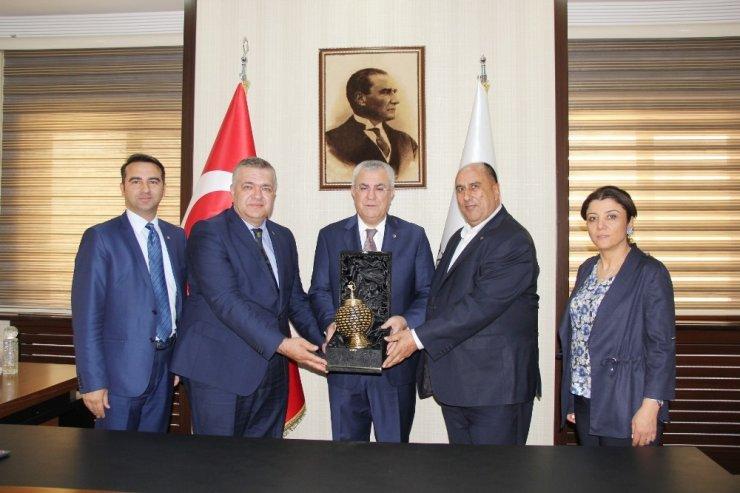 TOBB Yönetim Kurulu Üyesi Kıvanç'tan GTB'ye Ziyaret