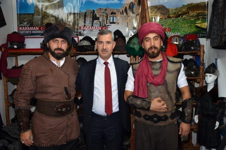 4. Bursa Anadolu Günlerinde Yeşilyurt Belediye standına yoğun ilgi