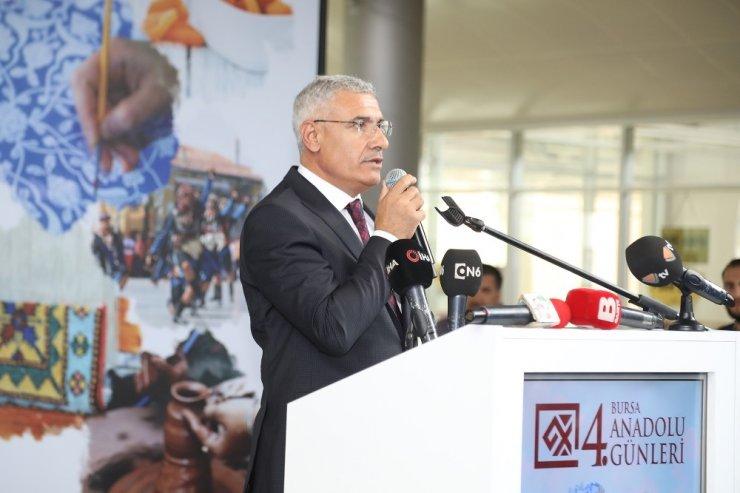 Battalgazi'nin tarihi Bursa'da tanıtıldı