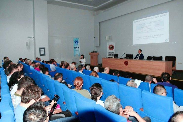 GSO-MEM'de MYK eğitim semineri düzenlendi