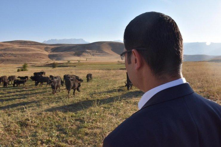 Kaymakam Doğramacı'dan çiftçilere ziyaret