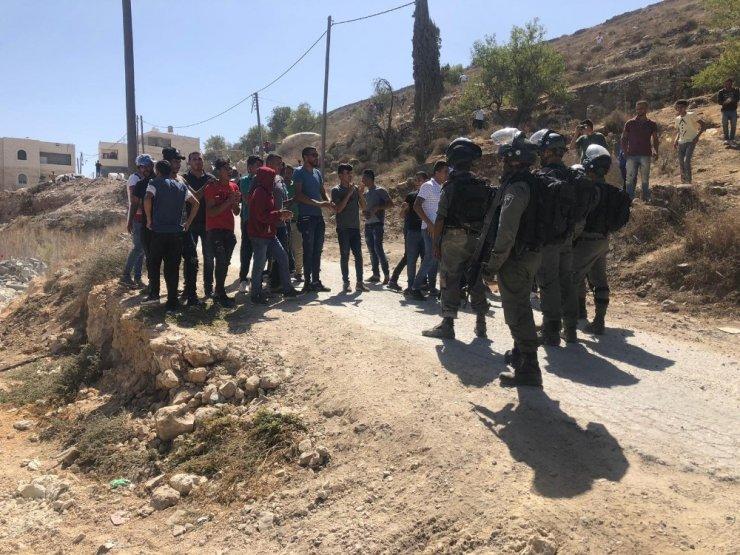 İsrail ordusu, Batı Şeria'da bir Filistinlinin evini yıktı