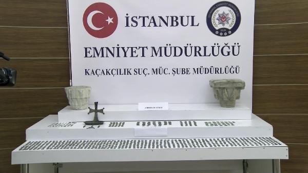 İstanbul'da 4 ilçede tarihi eser operasyonu; 5  gözaltı