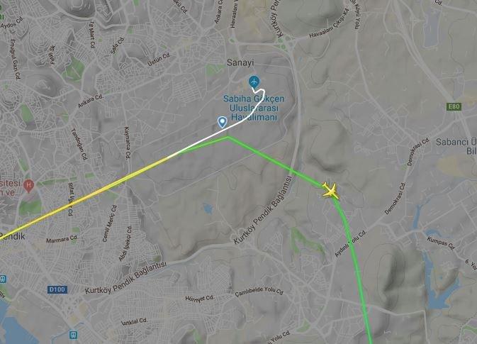 Kuleden pilotlara 'deprem oldu' uyarısı