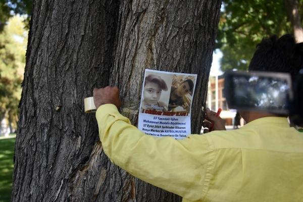 Konya'da bir baba 10 gündür yurttan kaçan oğlunu arıyor!
