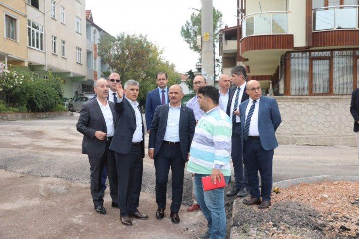 Başkan Söğüt'ten Esentepe Mahallesi'nde inceleme