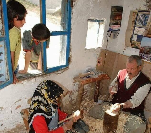 El yapımı kaşıklar tüm dünyaya satılıyor