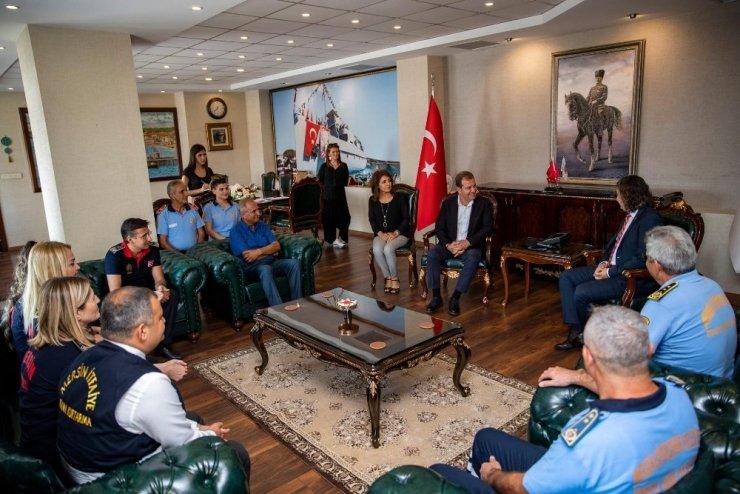 Başkan Seçer, itfaiye personelini ağırladı