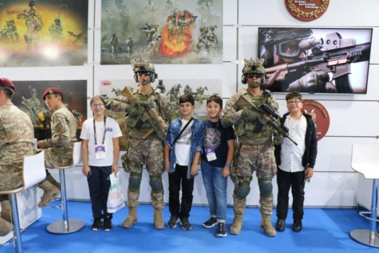 Cumhuriyet Ortaokulu Teknofest 2019'a katıldı