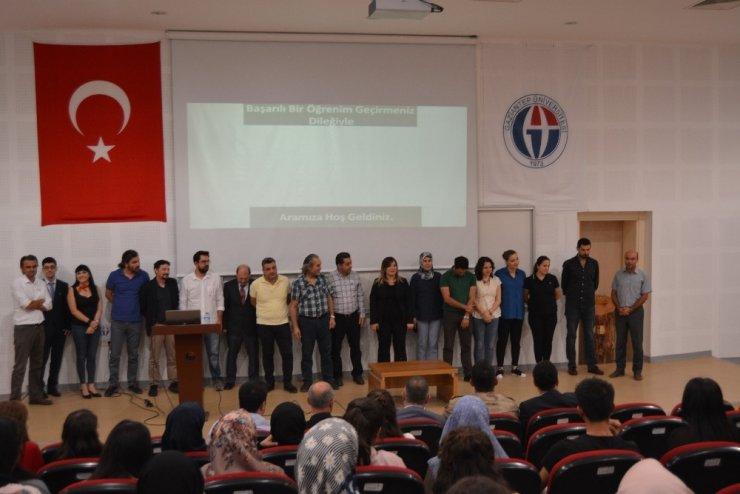 İslahiye'de üniversite öğrencileri için oryantasyon programı