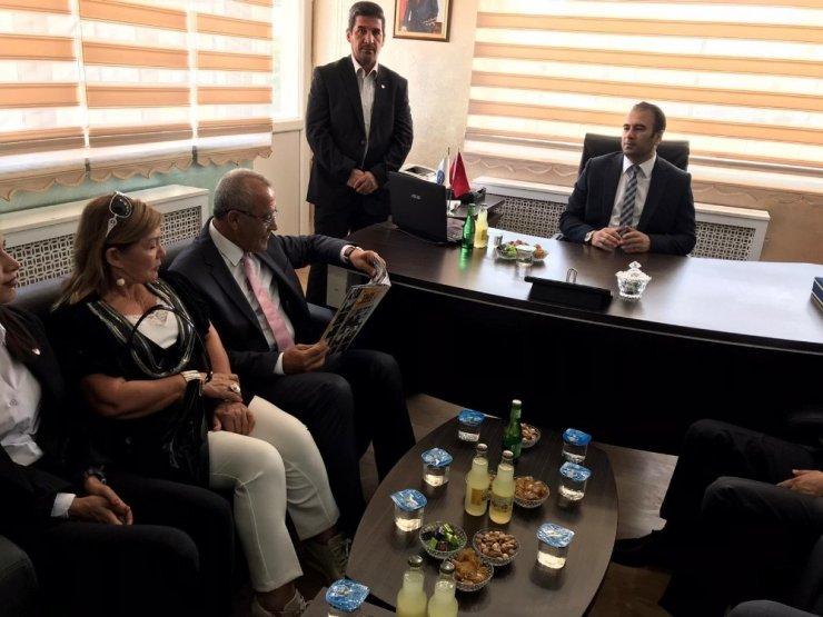 TFF Temsilciler Kurulu Başkanı Arıcı'dan Ağrı ASKF'ye ziyaret