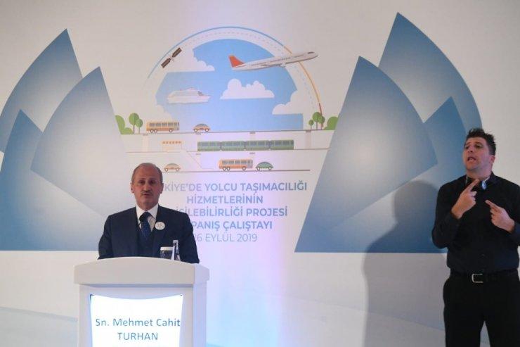 Ulaştırma ve Altyapı Bakanı Turhan: