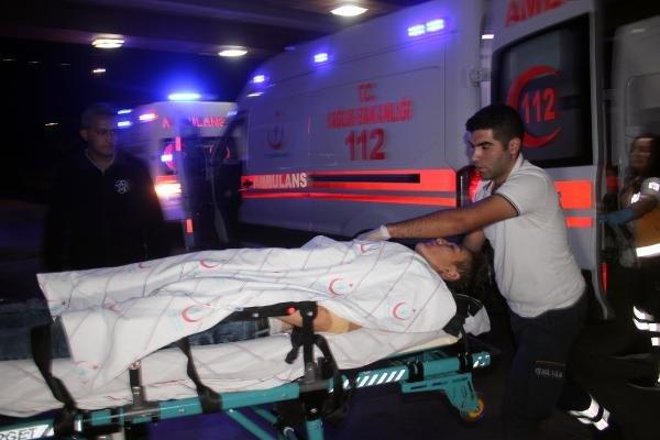 Karaman'dan Afganlı genç, eniştesini bıçakladı!