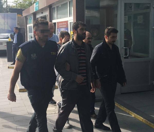 Konya'daki FETÖ operasyonunda 10 kişi tutuklandı