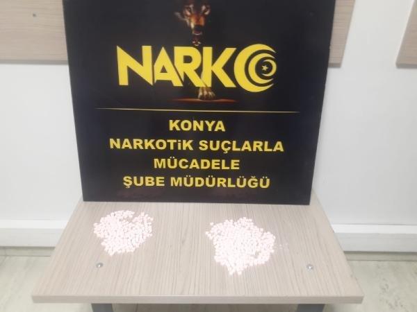 Konya'daki uyuşturucu ticaretine 5 tutuklama
