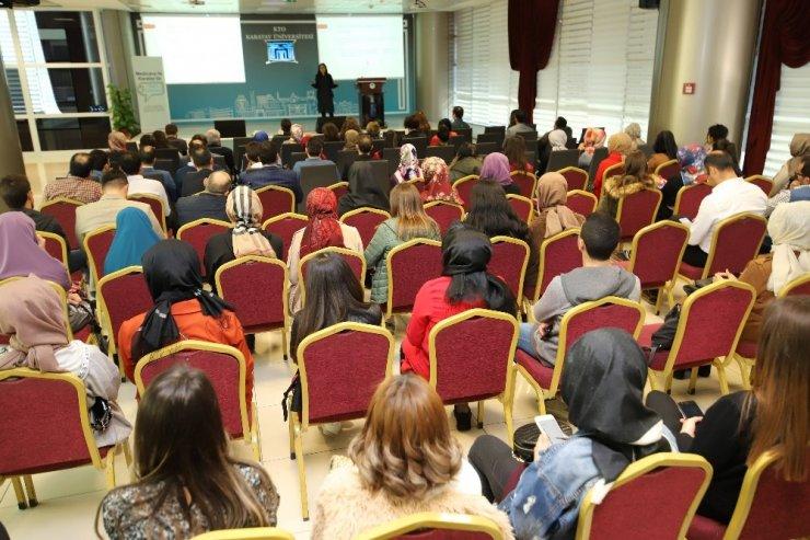 KTO Karatay Üniversitesinde sağlık semineri