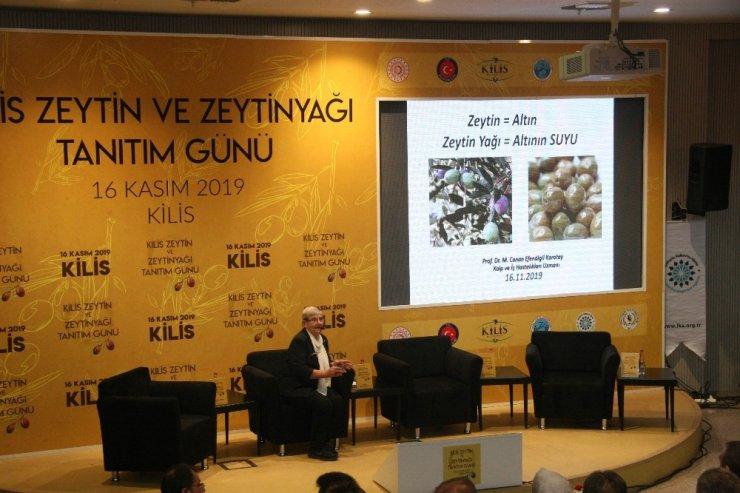 "Canan Karatay: ""Zeytin altındır, zeytinyağı da altının suyudur"""