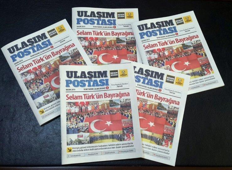 Konya Büyükşehir'den Ulaşım Postası