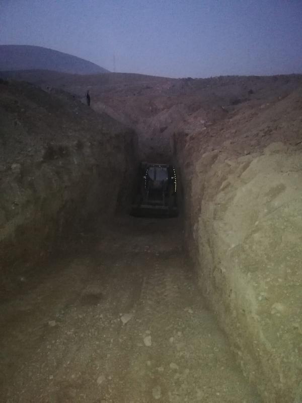 Konya'da kaçak kazıya suçüstü: 8 gözaltı