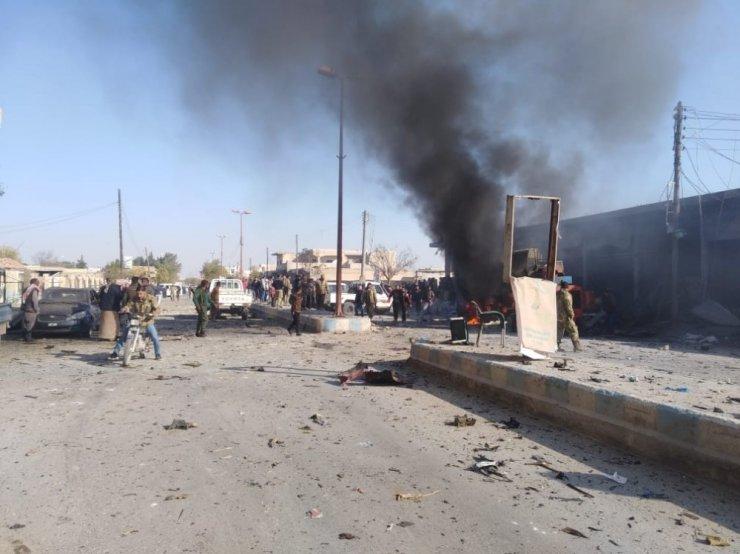Tel Abyad'ın merkezinde bomba yüklü araç patladı: 10 ölü